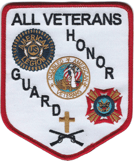 All Veterans Honor Guard Patch